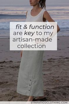 Well-chosen design elements add to both the visual impact of my hemp/Tencel line, as well as functional needs like freedom of movement. Ethical Clothing, Ethical Fashion, Freedom Of Movement, Colourful Outfits, Timeless Fashion, Design Elements, Personal Style, Artisan, Fashion Outfits