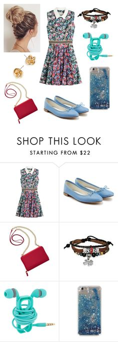 """Untitled #36"" by tarkant ❤ liked on Polyvore featuring Mary Katrantzou, Repetto, TravelSmith and Bling Jewelry"