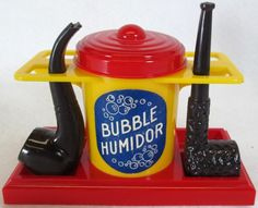 IDEAL: 1950s BUBBLE PIPE HUMIDOR