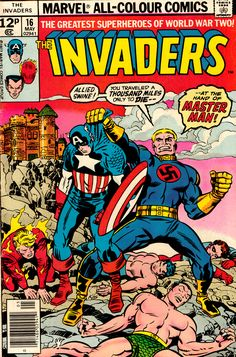 marvels the invaders | The Invaders, No. 16