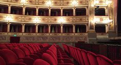 Fermo Theatre Empty, Tours, Places, Theater, Italia, Lugares