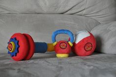 WOD Toys#products - Baby Crossfit Toys :)
