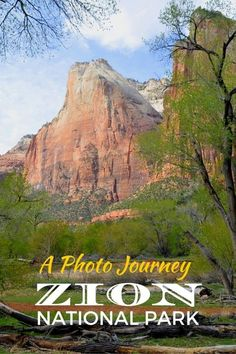Go on a Photo Journey Through Zion National Park in Utah and one of America's most popular national parks.