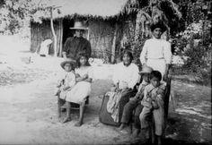 Familia campesina en Chile, década del 30