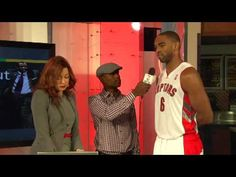 Raptors Media Day: Alan Anderson Air Canada Centre, Raptors, This Or That Questions, Day