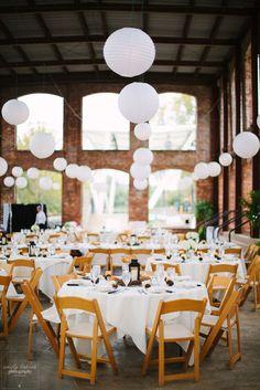 All white + whimsical | Wedding Table Decor Ideas | Emily Lapish Photography