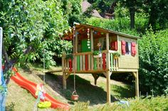 Children's playhouse in the garden: Tips for furnishing and decoration - All About