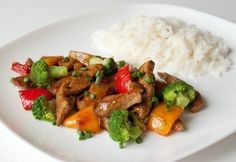 Stirfry PORK sweet and sour