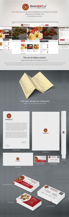 Branding , Illustration , PHP , Web Design , Hotel and Restaurants.