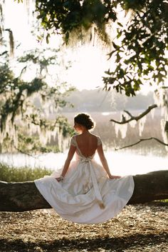 I think this was joe's favorite shot { Boone Hall Wedding
