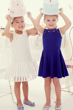 Party Central: See them smile from ear to ear with spring #dresses by Milly Minis.