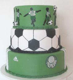"""""""Bolo Palmeiras """" BOLO FAKE DISPONÍVEL PARA LOCAÇÃO Informações: 11 3459-0387 fixo 11 96764-3837 oi / WhatsApp melbolosfake@gmail.com instagram.com/melbolosfake facebook.com/meldecolher Little Boy Cakes, Cakes For Boys, Little Boys, Bolo Jake, Decorative Boxes, Facebook, Desserts, Instagram, Toddler Boy Birthday"""