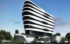 Hilton Garden Inn Mbabane - 3D Rendition