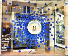 limited edition COLETTE X STAN SMITH, going dotty in Paris, pinned by Ton van der Veer