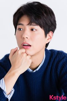 Park Bo Gum for Kstyle Park Bo Gum 2017, Asian Actors, Korean Actors, Korean Men, Park Bo Gum Moonlight, Asian Man Haircut, Male Pose Reference, Park Go Bum, Handsome Asian Men