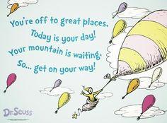 ♥ Dr. Seuss quote