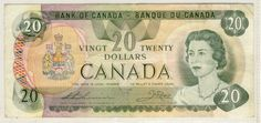Canada 1979 note 20 Dollars