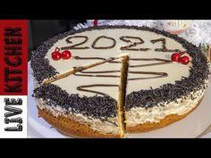 Η Καλύτερη Βασιλόπιτα του 2021!! Live Kitchen   Amazing Christmas Cake 2021 - YouTube Vasilopita Cake, Greek Sweets, New Year's Cake, Sponge Cake, Greek Recipes, Kitchen Living, Tiramisu, Food To Make, Xmas