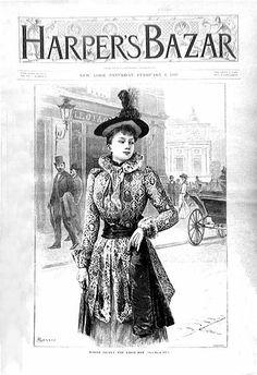 Harper's Bazaar February 1892
