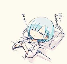 My waifu sleepin peacefully