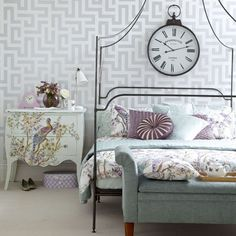 French Country Vintage | Vintage Bedrooms | PHOTO GALLERY | Ideal Home | Housetohome.co.uk
