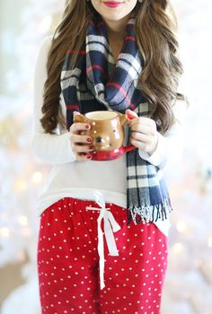 Southern Curls & Pearls: Cozy at Home with J.Crew Factory