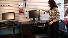 Stephanie Gilbert of Ergoprise offers an ergonomic evaluation of the top sit stand desk on desk reviews. She reviews the Varidesk 360 Pro, Ergotron Wrokfit-A...