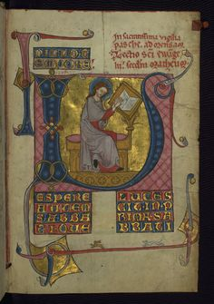 Illuminated Manuscript - Walters Ms. W.148, Lectionary, on parchment, First half of the 14th century, fol. 3r