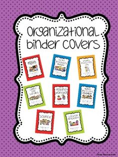 Watch the transformation as one teacher goes from overstuffed file drawers to binder organization. Includes link to FREE binder covers via TPT. Super before and after photos document the whole Decor Ideas Classroom Organisation, Binder Organization, Kindergarten Classroom, School Organization, School Classroom, School Fun, Classroom Decor, Classroom Management, School Stuff