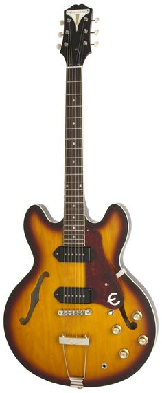 "Epiphone Ltd Ed 50th Anniversary ""1961"" Casino TD Vintage Sunburst Electric Guitar | Rainbow Guitars"