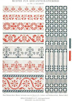 25 trendy ideas for knitting fair isle chart libraries Knitting Charts, Knitting Stitches, Knitting Designs, Knitting Patterns, Cross Stitch Borders, Cross Stitch Charts, Cross Stitch Patterns, Embroidery Patterns Free, Cross Stitch Embroidery