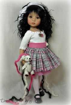Dress Ups by PJ ... Perky in Pink. . .and GRAY! | Flickr - Photo Sharing!