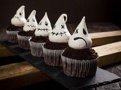 strašidelné cupcakes Oreos, Cupcakes, Desserts, Food, Tailgate Desserts, Cupcake Cakes, Deserts, Postres, Dessert