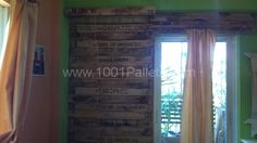 Pallet wall   1001 Pallets