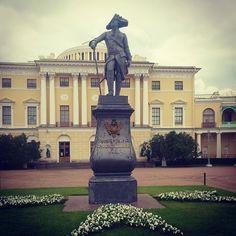 Pavlovsk - royal suburb of St. Petersburg built for Pavel I.  #павловск #knowledge #history #russia