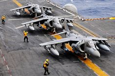 MDD AV-8B HarrierII Plus, US Marine Harrier Jump Jets