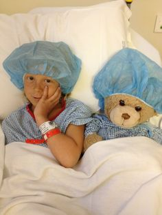 Daisy Merrick preparing for surgery to remove a Wilms Tumor for the 3rd time. Lets make this prayer chain go all the way around the world!  I pray for a miracle!!