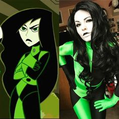 Shego from Kim Possible Cosplay by winter blossom😎😎 Shego Halloween Costume, Halloween Duos, Toy Story Halloween Costume, Halloween Series, Halloween 2018, Halloween Stuff, Diy Halloween, Best Family Halloween Movies, Comic Makeup