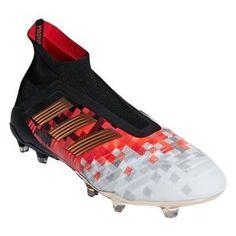 adidas Predator 18.3 FG - Core Black White Solar Red  09582fa875a41