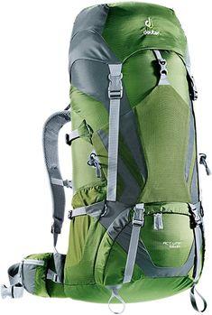 Amazon.com: Deuter ACT Lite 65+10 Hiking Backpack - Discontinued, Pine/Granite: Deuter: Clothing Camping And Hiking, Hiking Gear, Tent Camping, Camping Gear, Camping Equipment, Best Hiking Backpacks, Cool Backpacks, Best Ultralight Backpack, Internal Frame Backpack