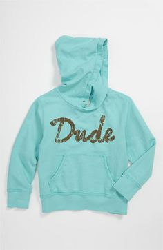 Peek 'Dude' Hoodie (Toddler, Little Boys & Big Boys) | Nordstrom...I'd love this for Mav!