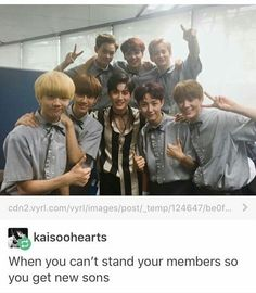 Nct dream and Exo leader suho K Pop, Moorim School, Xiuchen, Sm Rookies, Exo Memes, Na Jaemin, Tvxq, Kpop Groups, Taeyong