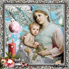 Maria und Jesus 12 Christmas Greeting Cards, Christmas Greetings, Mother Gif, Blessed Mother, Photo Editor, Catholic, Religion, Gif Art, Scrapbook