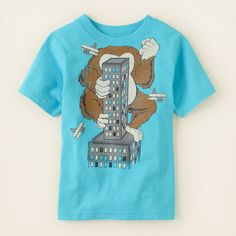 baby boy - graphic tees - ape graphic tee   Children's Clothing   Kids Clothes   The Children's Place