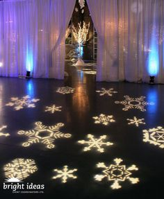 Fantastic setup with #snowflake #gobo #monogram at this #uplighting #wedding # & 381 best Gobo Lighting Inspiration (Monogram Lighting) images on ...