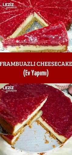 Raspberry Cheesecake (Homemade) - My Delicious Food Perfect Cheesecake Recipe, Cheesecake Pops, Best Cheesecake, Homemade Cheesecake, Raspberry Cheesecake, Cheesecake Recipes, Dessert Recipes, Healthy Desserts, Delicious Desserts