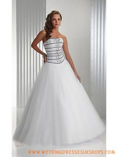 White Sequin Tulle Tulle Prom Dresses