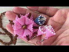 Bead Jewellery, Bead Earrings, Beaded Jewelry, Seed Bead Tutorials, Beading Tutorials, Bead Embroidery Jewelry, Beaded Embroidery, Slip Stitch Crochet, How To Make Decorations