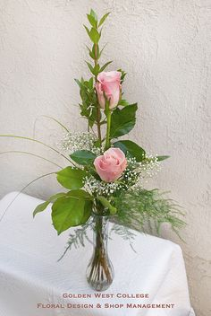 Bud vase design | by GWC Floral Design