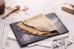 Crepe with Nutella Ricotta, My Favorite Food, Favorite Recipes, Nutella Crepes, Crepe Recipes, Pancakes And Waffles, Fritters, Italian Recipes, Oreo